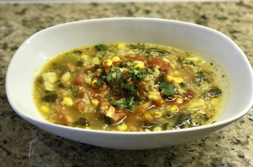 Slow Cooker Quinoa Vegetable Soup