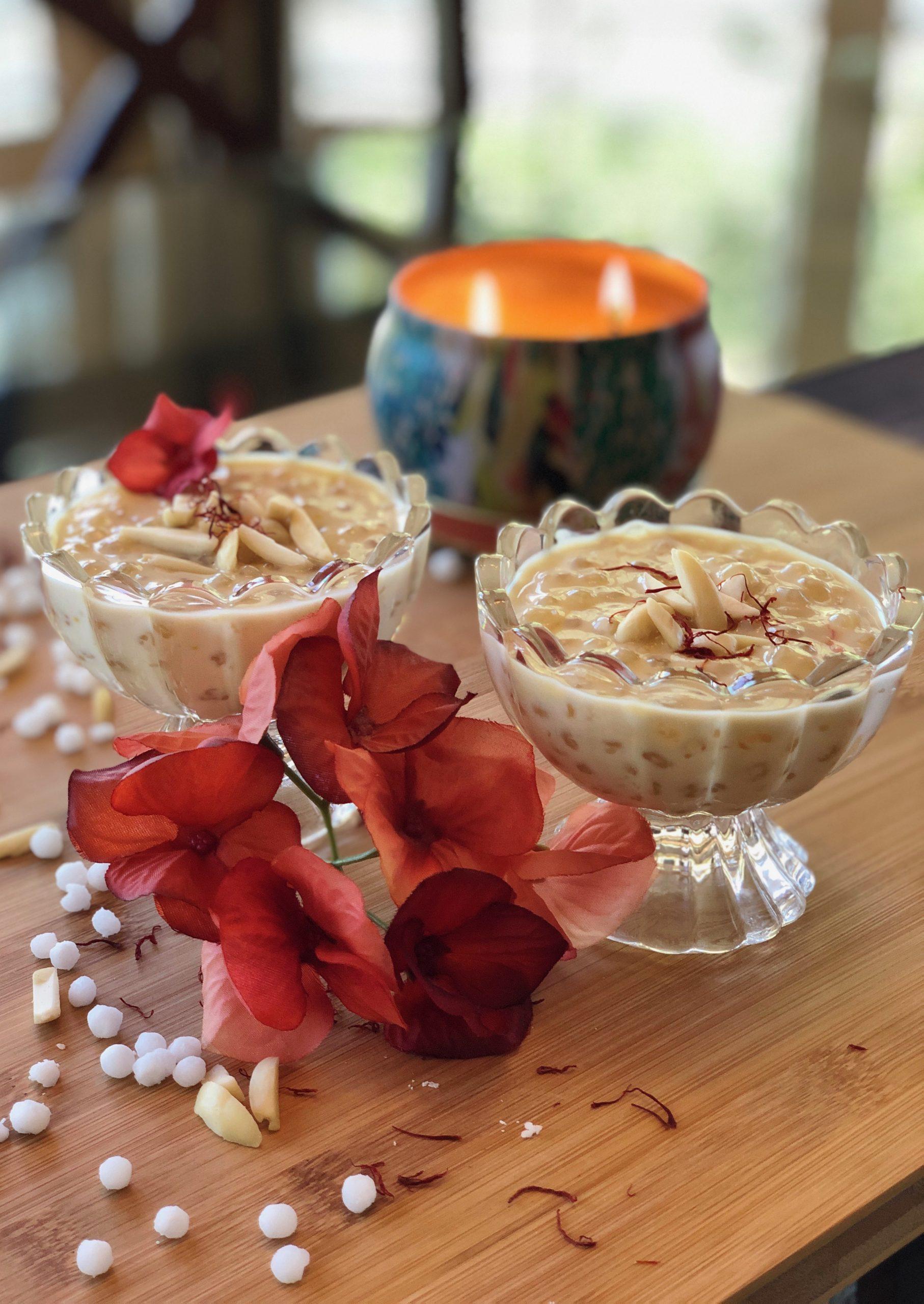 Tapioca Pudding - Sabudana Kheer
