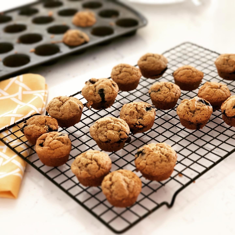 Vegan and Gluten free Blueberry Lemon Muffins