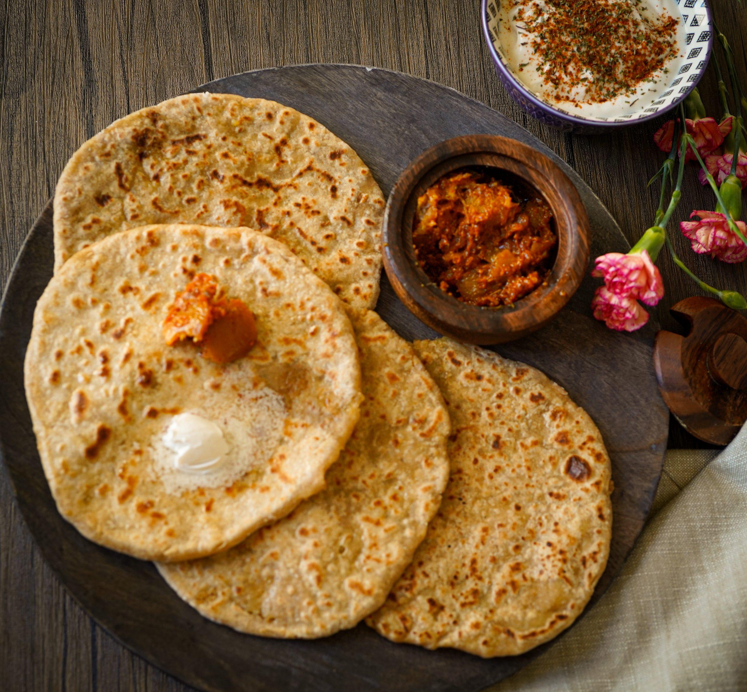 Aloo Paratha - Gluten free