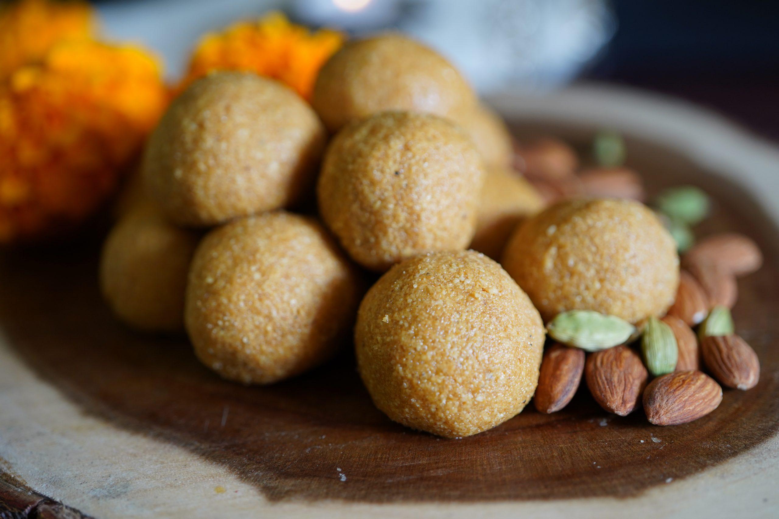 Besan ladoos - Classic Indian Dessert